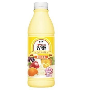光泉 果汁調味乳(936ml/瓶)