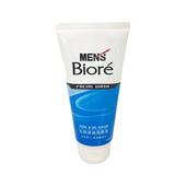 《MEN's Biore》蜜妮沁涼淨油洗面乳(100g/瓶)