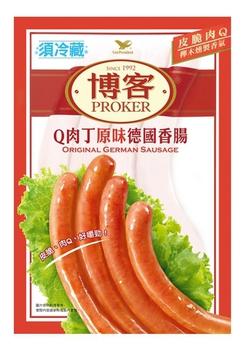 統一 博客Q肉丁德國香腸(200g/包)