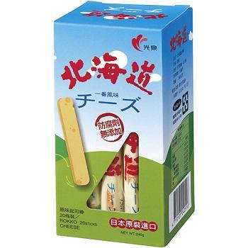 光泉 北海道起司棒(240g/盒)