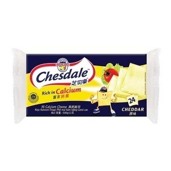 芝司樂 高鈣原味起司(500g/包)