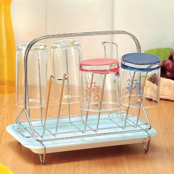 杯子收納架附滴水皿