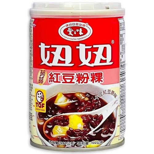 愛之味 妞妞紅豆粉粿(260gx6罐/組)