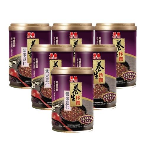 泰山 紫米薏仁八寶粥(255g*6罐/組)