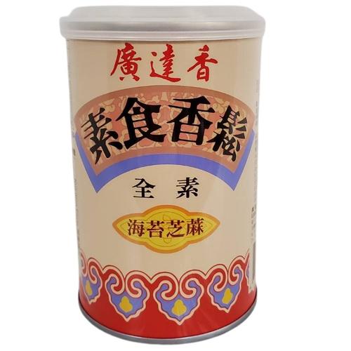廣達香 素食香鬆-海苔芝麻(150g/罐)