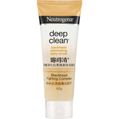 《露得清》深層淨化抗黑頭柔珠洗面乳(100g/支)