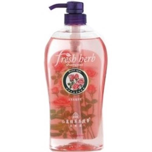 美吾髮 仙麗絲草本精華洗髮露-天然玫瑰萃取(750ml/瓶)