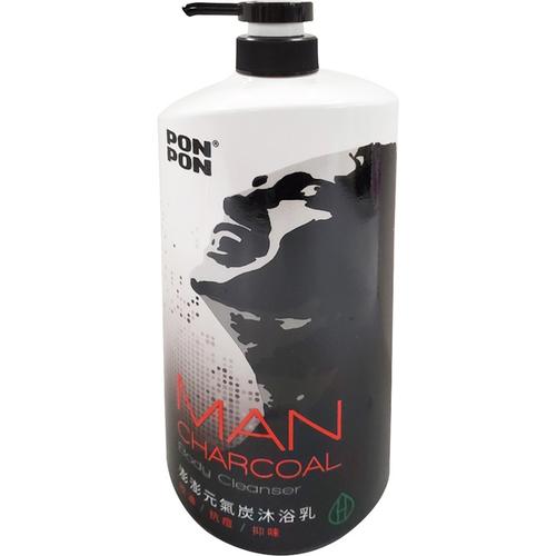 澎澎 元氣炭控油沐浴乳(1200g/瓶)