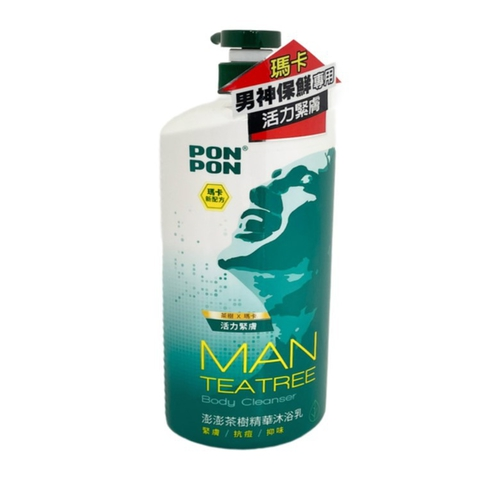 澎澎 茶樹精油淨化沐浴乳(1200g/瓶)