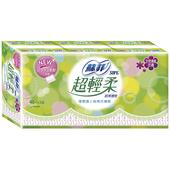 《蘇菲》超輕柔護墊-天然清新花香(40片*3包/組)
