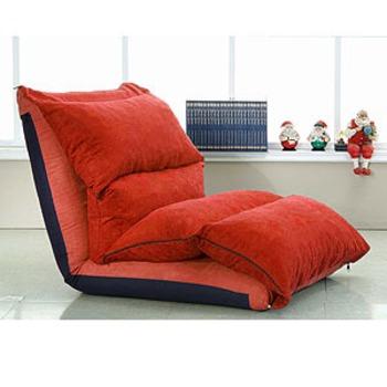 ★結帳現折★ 超強功能和室沙發床椅(磚紅色)