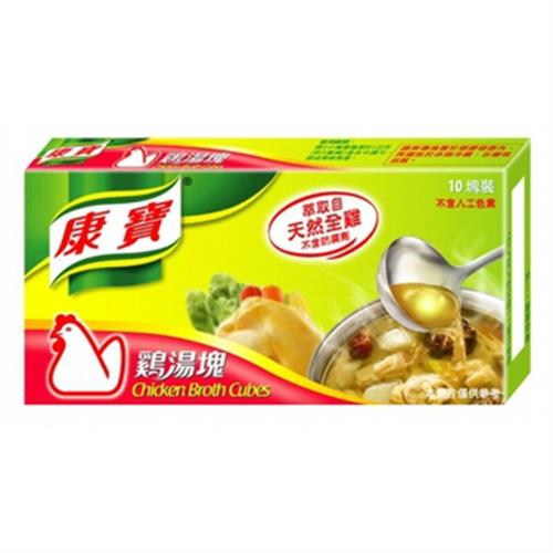 康寶 雞湯塊(100g/盒)