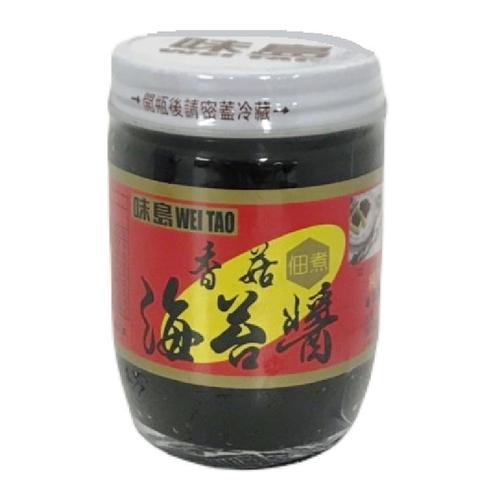 《味島》海苔醬-香菇(190g/瓶)