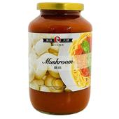 《美味大師》義大利麵醬-蘑菇(720g/瓶)