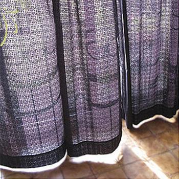 ★結帳現折★麗塔 花窗個性穿桿式半腰窗簾(270*180cm)