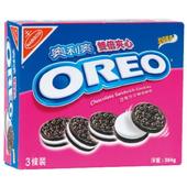 《奧利奧》雙倍夾心巧克力三明治餅乾(457.2g/盒)