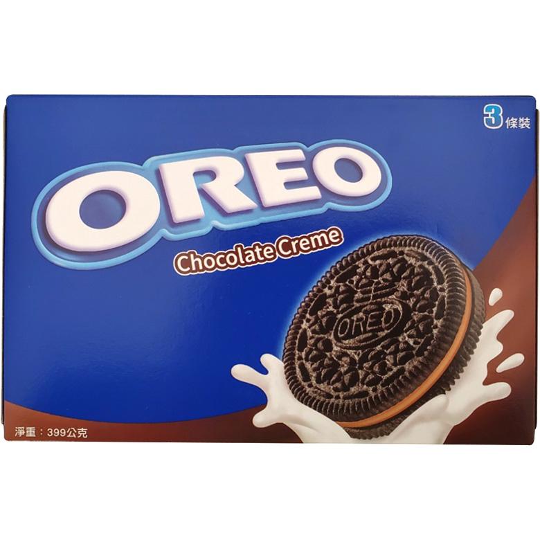 《奧利奧》巧克力夾心三明治餅乾(411g/盒)