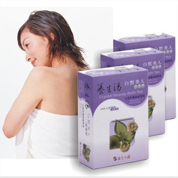 《養生小舖》【3盒入】100%天然泡湯包》養生湯~ 美人浴(3包/盒*3盒)