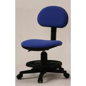 天才學童 粉藍色安全成長電腦椅-壓力輪(ET209椅)