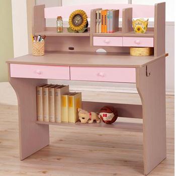 《C&B》天才學童成長書桌(粉紅色)