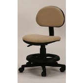 《天才學童》米色安全成長電腦椅-壓力輪(ET209椅)