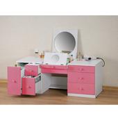 《朵拉》二代和室兩用化妝桌(粉紅)