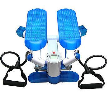 月陽 運動家有氧左右搖擺拉繩踏步健身機(ST-7727)