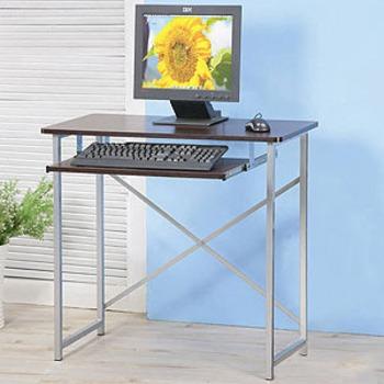 Homelike 超值電腦桌(胡桃木色)