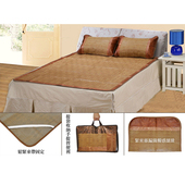 《愛樂美》古典雙人涼蓆枕套組X2組-加大