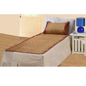 《愛樂美》古典單人涼蓆枕套組X2組-標準