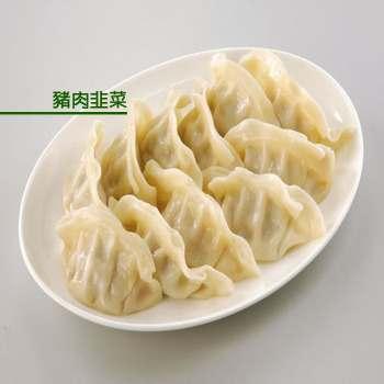 禎祥 豬肉韭菜熟水餃(1700g/約100粒)