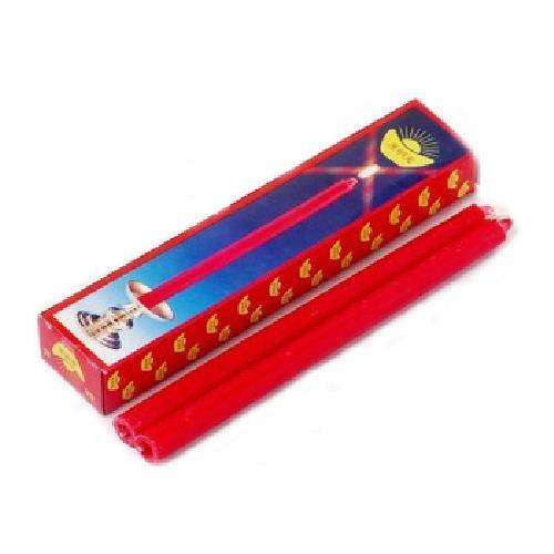 呈震 6A特紅蠟燭(6支/盒)