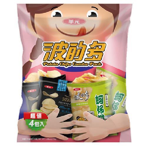 《華元》波的多洋芋片(43gx4包/袋)