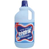 《妙管家》超強漂白水-無磷原味2000g/瓶 $40