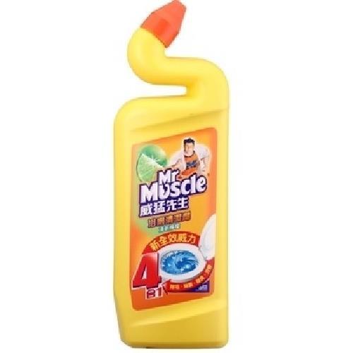 威猛先生 浴廁清潔劑-檸檬(750ml/罐)