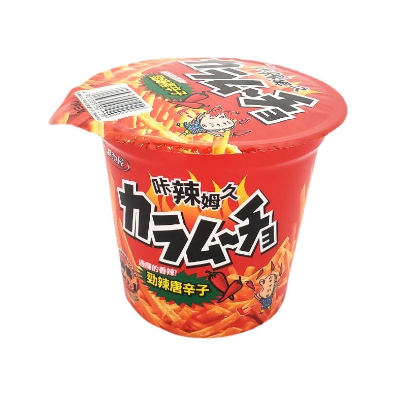 《湖池屋》卡啦姆久洋芋條(64g/杯)