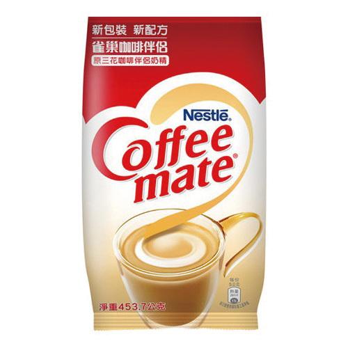雀巢 三花咖啡伴侶奶精原味(453.7g/包)