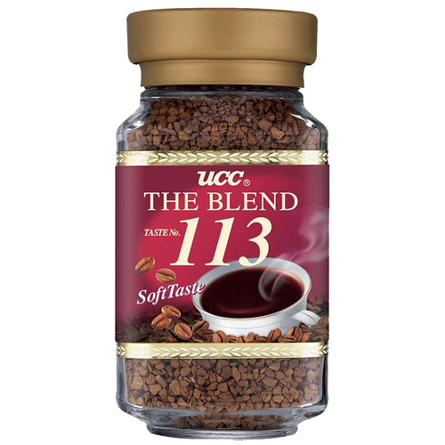 UCC 113精緻即溶咖啡(100g/瓶)