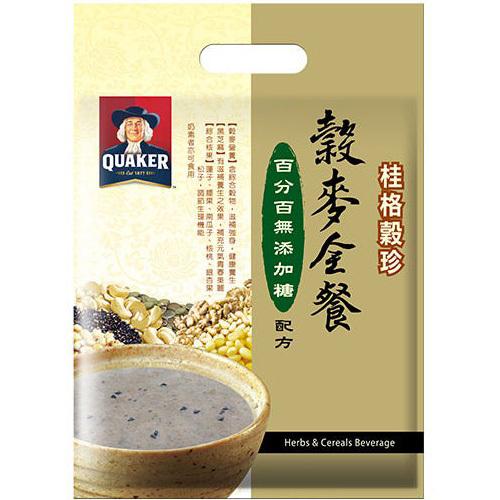 桂格 穀珍無糖健康全穀餐(25gx12包/袋)