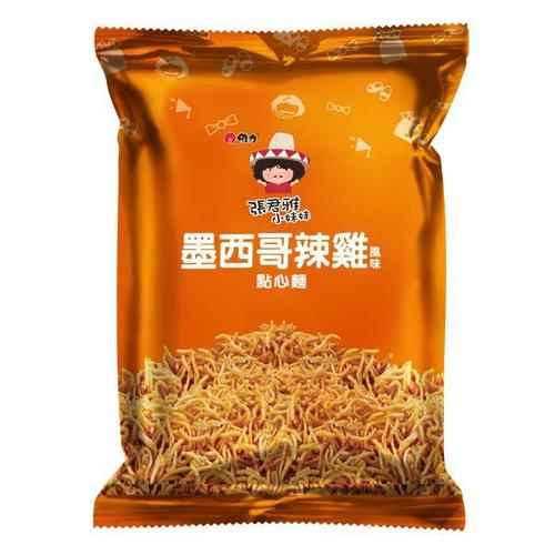 維力 張君雅小妹妹-墨西哥辣雞點心麵(78g/包)