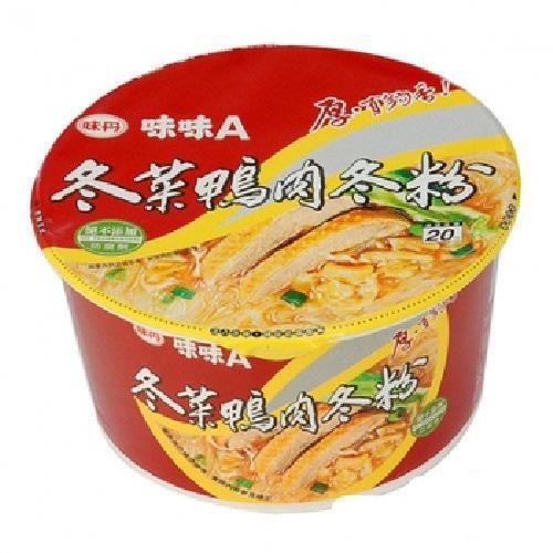 《味丹》味味A冬菜鴨肉冬粉(60gx3碗/組)