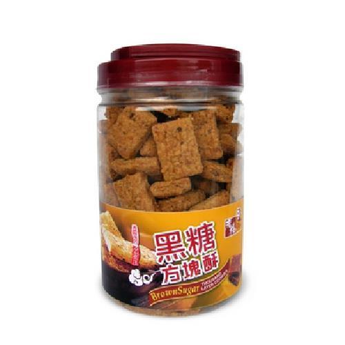 《老楊》黑糖方塊酥(450g/罐)
