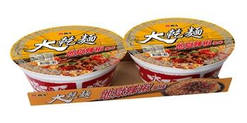 維力 大乾麵-地獄辣椒(110gx2碗/組)