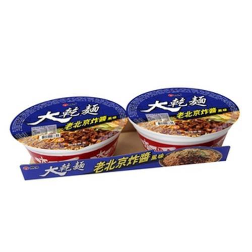 維力 大乾麵老北京炸醬麵(113gx2碗/組)