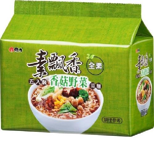 維力 素飄香-香菇野菜(85g*5包/組)