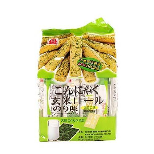 《北田》蒟蒻糙米捲-海苔(160g/包)