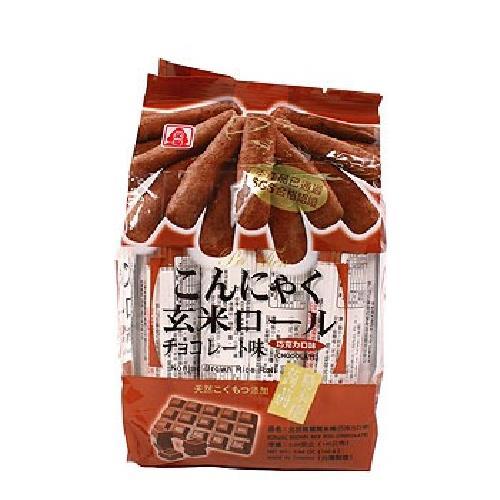 北田 蒟蒻糙米捲-巧克力