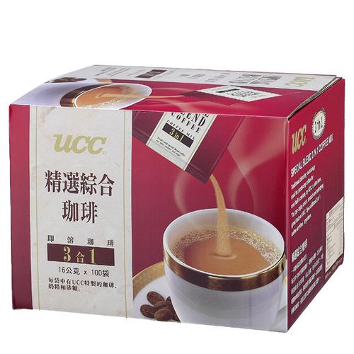 UCC 精選綜合三合一咖啡(16gx100包/盒)