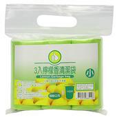 《FP》檸檬香清潔袋-小(75張/3捲)