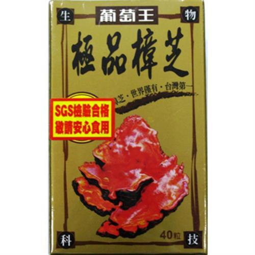 葡萄王 極品樟芝(40粒/瓶)